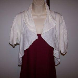 Charlotte Russe Shrug Cardigan Sweater Small